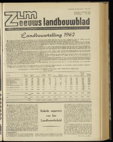 Zeeuwsch landbouwblad ... ZLM land- en tuinbouwblad 1962-06-29