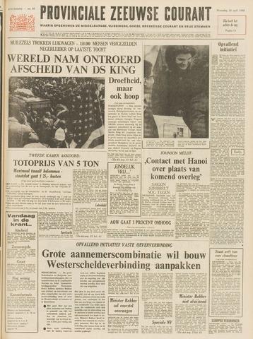 Provinciale Zeeuwse Courant 1968-04-10