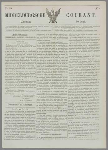 Middelburgsche Courant 1854-06-10