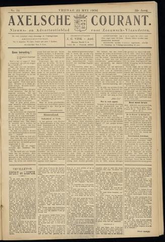 Axelsche Courant 1936-05-22