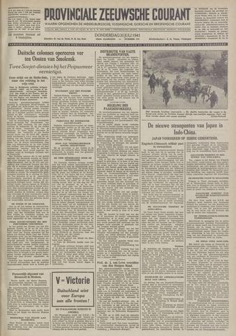 Provinciale Zeeuwse Courant 1941-07-31