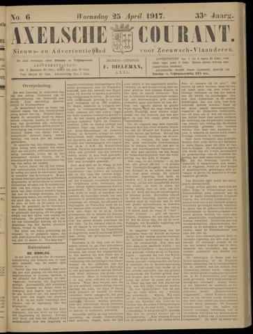 Axelsche Courant 1917-04-25