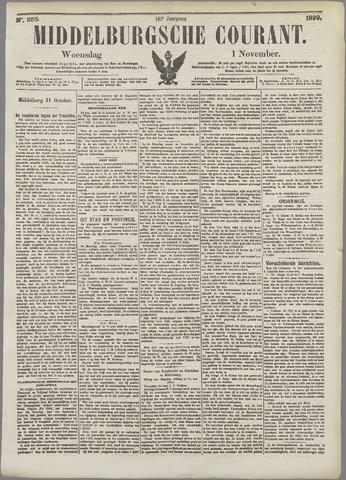 Middelburgsche Courant 1899-11-01