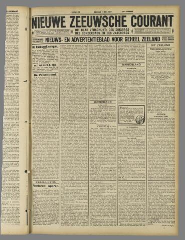 Nieuwe Zeeuwsche Courant 1927-05-17