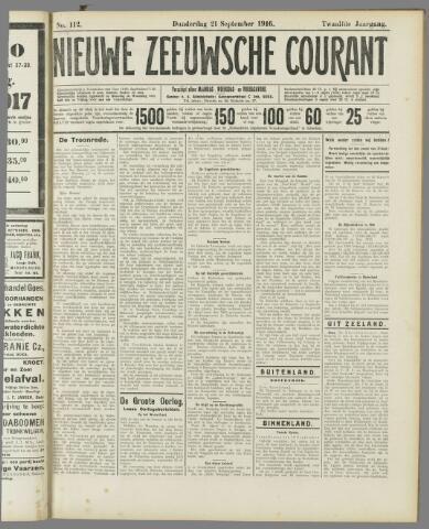 Nieuwe Zeeuwsche Courant 1916-09-21
