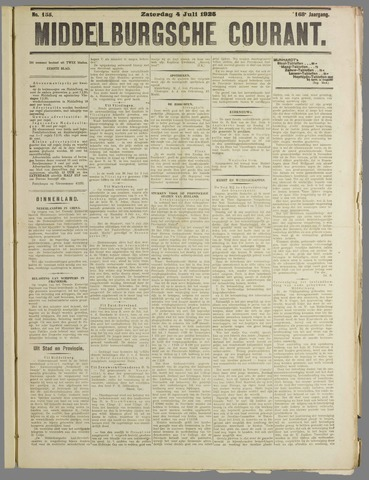 Middelburgsche Courant 1925-07-04