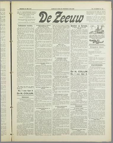De Zeeuw. Christelijk-historisch nieuwsblad voor Zeeland 1937-05-24