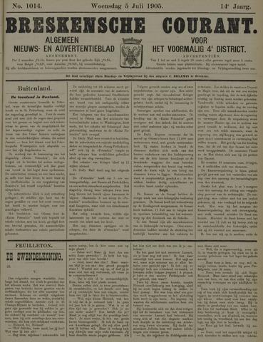 Breskensche Courant 1905-07-05