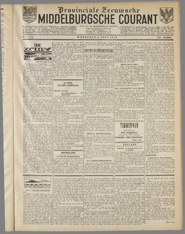 Middelburgsche Courant 1930-07-02