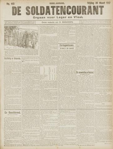 De Soldatencourant. Orgaan voor Leger en Vloot 1917-03-30