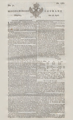 Middelburgsche Courant 1761-04-28