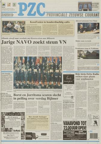 Provinciale Zeeuwse Courant 1999-04-24