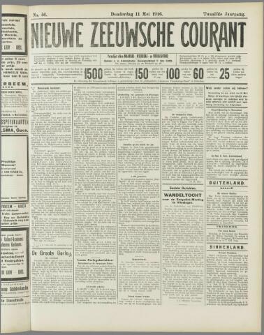 Nieuwe Zeeuwsche Courant 1916-05-11