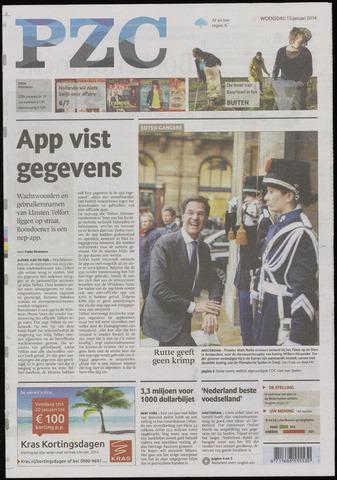 Provinciale Zeeuwse Courant 2014-01-15