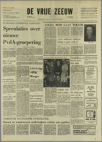 de Vrije Zeeuw 1970-01-10