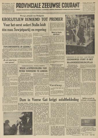 Provinciale Zeeuwse Courant 1958-03-28