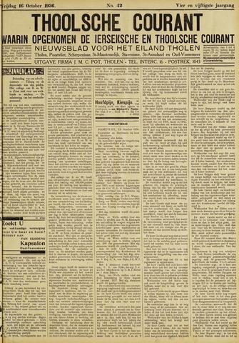 Ierseksche en Thoolsche Courant 1936-10-16
