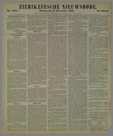 Zierikzeesche Nieuwsbode 1881-12-15
