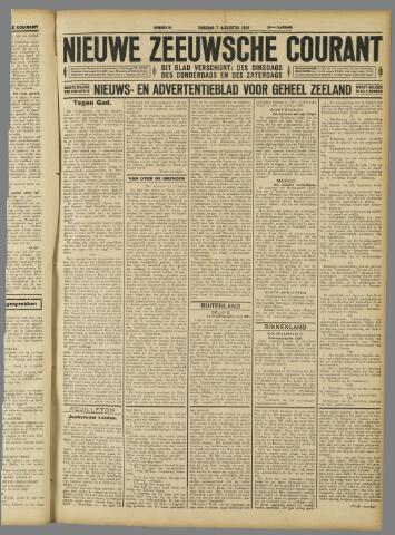 Nieuwe Zeeuwsche Courant 1928-08-07