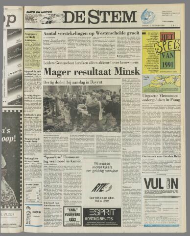 de Stem 1991-12-31