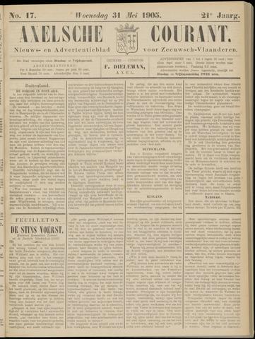 Axelsche Courant 1905-05-31