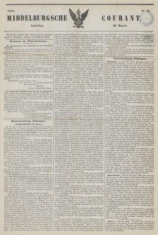 Middelburgsche Courant 1853-03-26