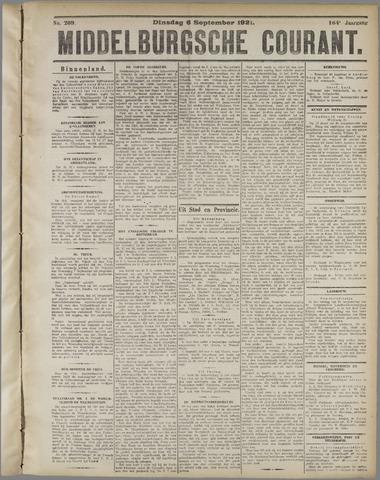 Middelburgsche Courant 1921-09-06