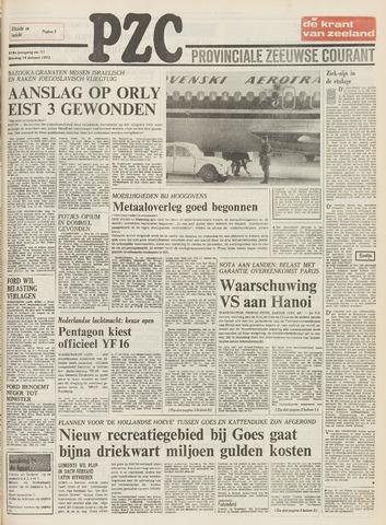 Provinciale Zeeuwse Courant 1975-01-14