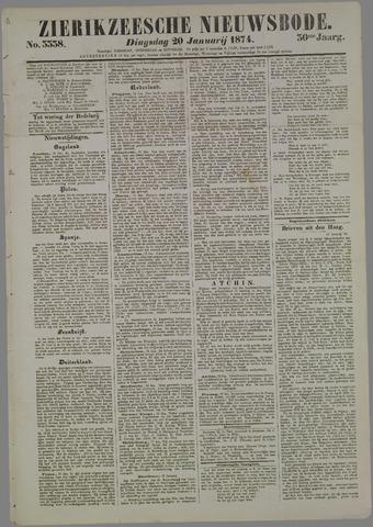 Zierikzeesche Nieuwsbode 1874-01-20