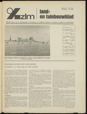 Zeeuwsch landbouwblad ... ZLM land- en tuinbouwblad 1971-06-11