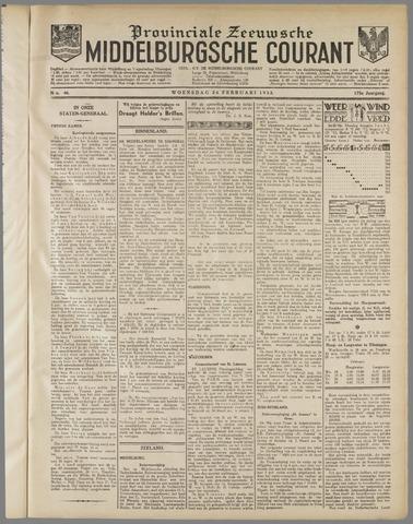 Middelburgsche Courant 1932-02-24