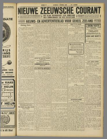 Nieuwe Zeeuwsche Courant 1929-11-02