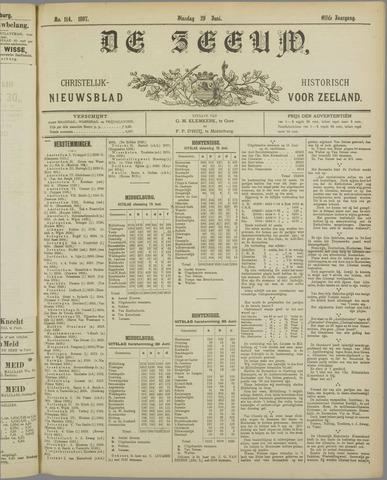 De Zeeuw. Christelijk-historisch nieuwsblad voor Zeeland 1897-06-29