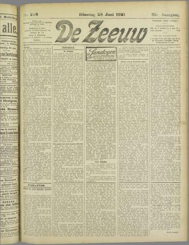 De Zeeuw. Christelijk-historisch nieuwsblad voor Zeeland 1921-06-28