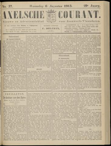 Axelsche Courant 1913-08-06