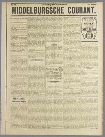 Middelburgsche Courant 1927-03-26