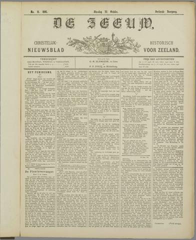 De Zeeuw. Christelijk-historisch nieuwsblad voor Zeeland 1898-10-25