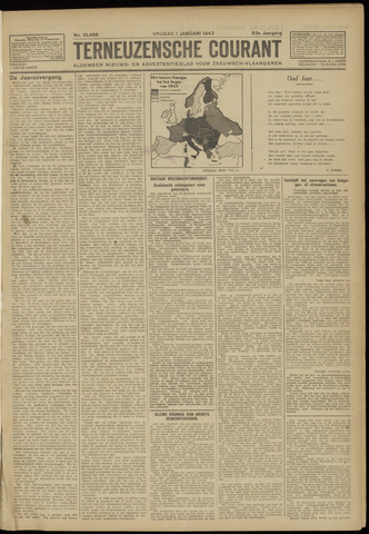 Ter Neuzensche Courant. Algemeen Nieuws- en Advertentieblad voor Zeeuwsch-Vlaanderen / Neuzensche Courant ... (idem) / (Algemeen) nieuws en advertentieblad voor Zeeuwsch-Vlaanderen 1943