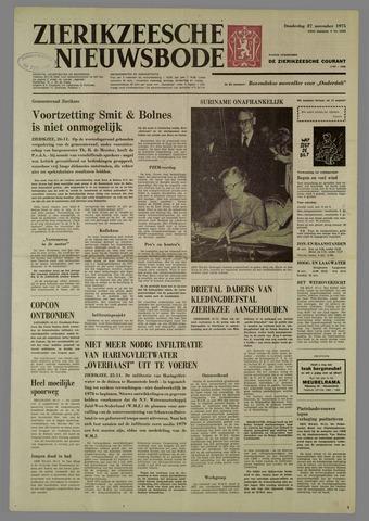 Zierikzeesche Nieuwsbode 1975-11-27