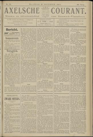 Axelsche Courant 1924-12-29