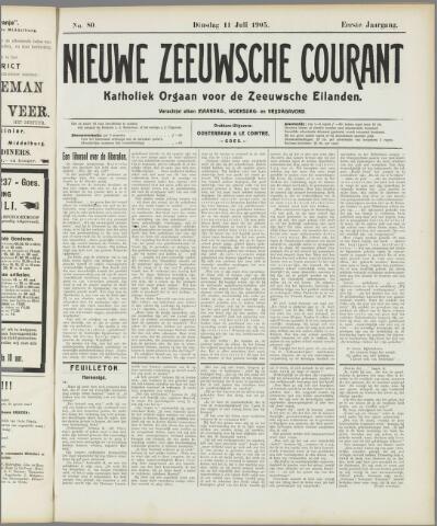 Nieuwe Zeeuwsche Courant 1905-07-11