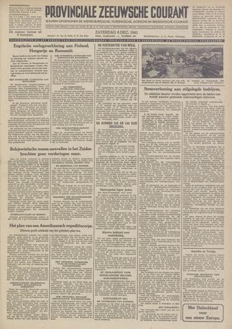 Provinciale Zeeuwse Courant 1941-12-06