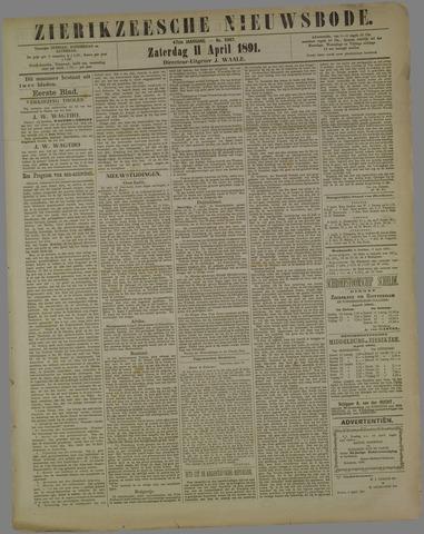 Zierikzeesche Nieuwsbode 1891-04-11