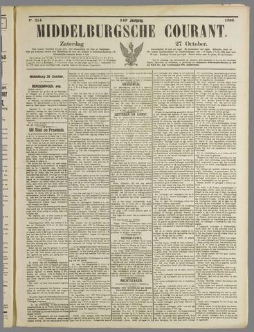 Middelburgsche Courant 1906-10-27
