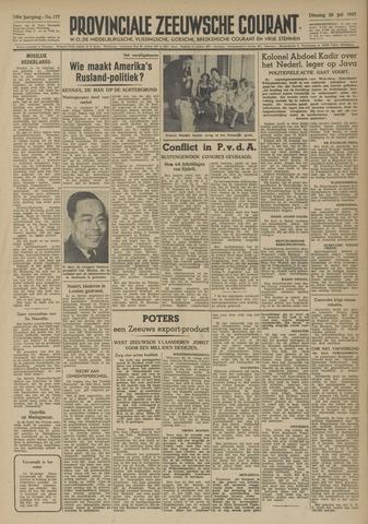 Provinciale Zeeuwse Courant 1947-07-29