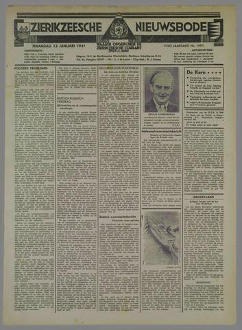 Zierikzeesche Nieuwsbode 1941-01-13