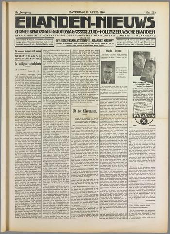 Eilanden-nieuws. Christelijk streekblad op gereformeerde grondslag 1940-04-13