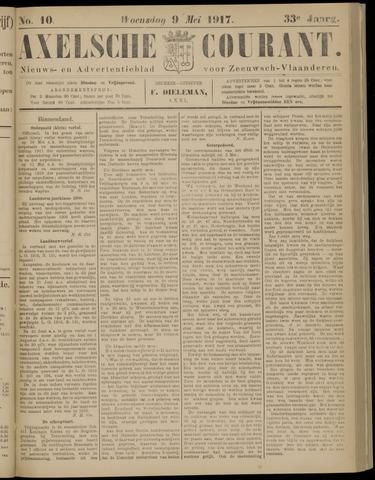 Axelsche Courant 1917-05-09