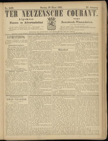 Ter Neuzensche Courant. Algemeen Nieuws- en Advertentieblad voor Zeeuwsch-Vlaanderen / Neuzensche Courant ... (idem) / (Algemeen) nieuws en advertentieblad voor Zeeuwsch-Vlaanderen 1897-03-30