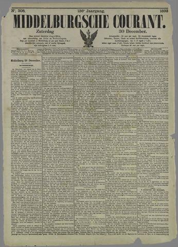 Middelburgsche Courant 1893-12-30